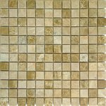 Emperador Light pol Мозаика Caramelle mosaica Pietrine