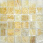 CV20011 Polished Golden Oniyx Мозаика Colori Viva Natural Stone