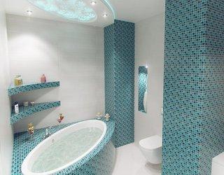 10 неудачных дизайнов ванной комнаты.