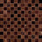 CHECKMATE BROWN Мозаика Bisazza DECORATIONS 5X5